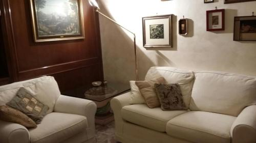 The lounge or bar area at Apartment Candiani
