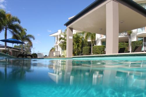 The swimming pool at or near Caloundra Central Apartment Hotel