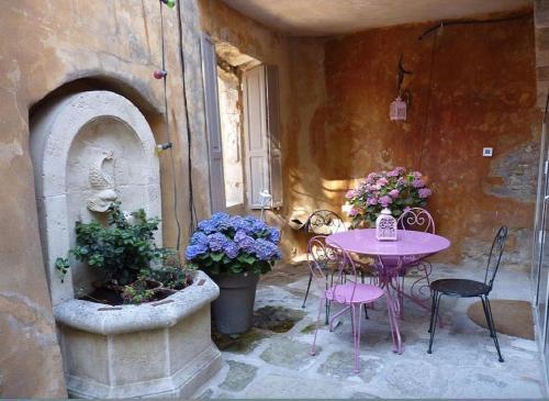Maison d'artiste à Bonnieux