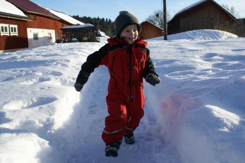 Markusfolks Gård under vintern