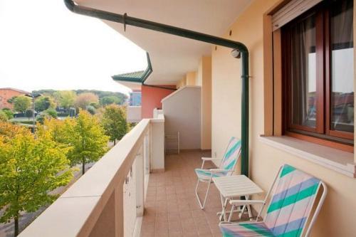 Balkón nebo terasa v ubytování Residence Benidorm