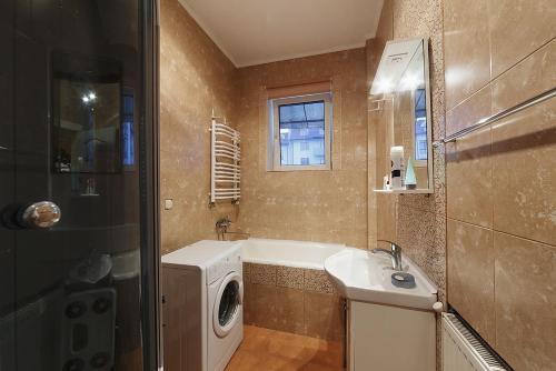 Ванна кімната в Centreville Apartments