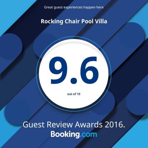 Rocking Chair Pool Villa
