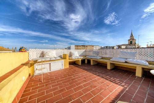 Los 10 mejores apartamentos de c diz espa a - Casa patio del panadero ...