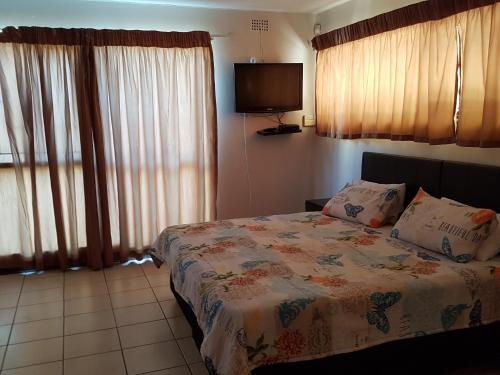 Lova arba lovos apgyvendinimo įstaigoje A charming hill side apartment