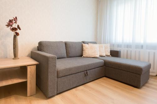 Istumisnurk majutusasutuses Tammsaare apartment