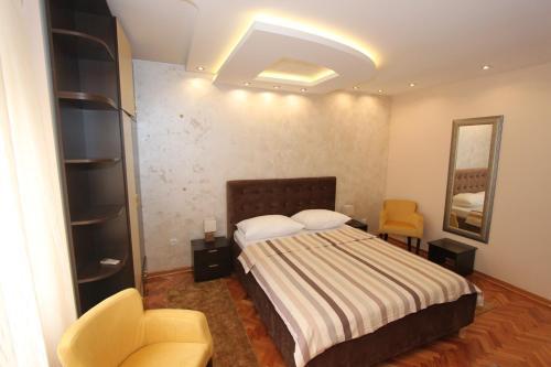 Belgrade Downtown Apartments 객실 침대