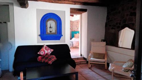 Zona de estar de Mas Campolier