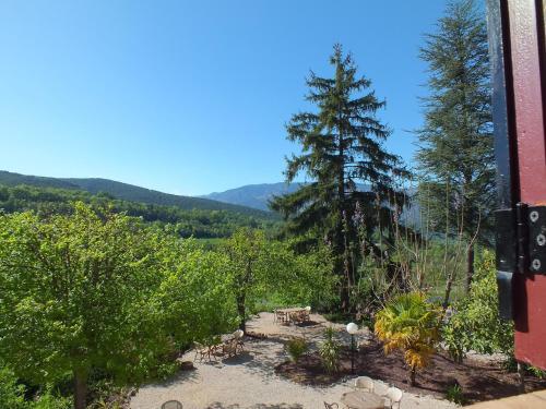 Paysage naturel près de la maison de vacances