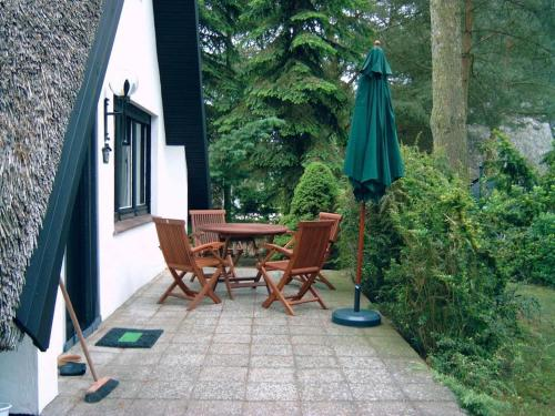 Reetdach-Ferienhaus in Quilitz