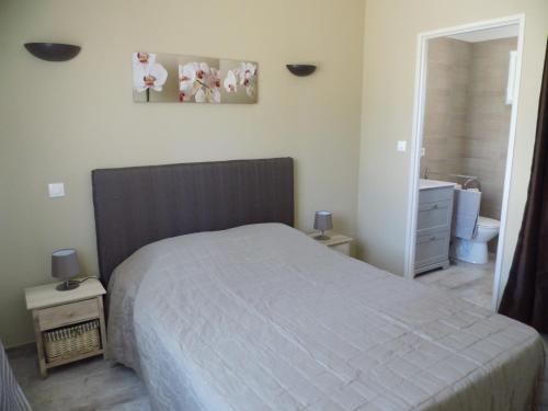 Un ou plusieurs lits dans un hébergement de l'établissement Liliana