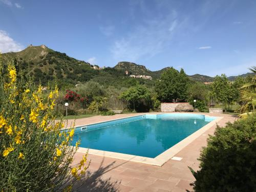The swimming pool at or near Villa Uliveto