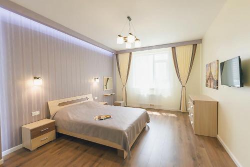 Lova arba lovos apgyvendinimo įstaigoje Pearly Sea Apartment