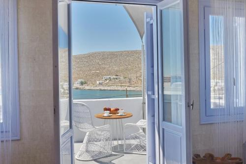 A balcony or terrace at AMOsuites & Spa