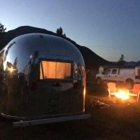 vintage airstream accommodation