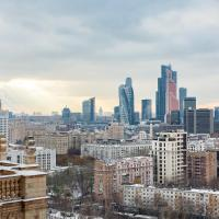 Kudrinskaya Skyview Apartment