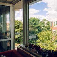 Light apartment in Amsterdam