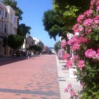 Top center - old town Varna