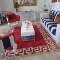 Glamorous 160sqm flat with seaview and sunset at Ostia Lido