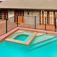 #1338 - Poolside Hideaway Five-Bedroom Holiday Home
