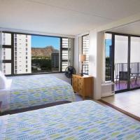 1 Bedroom Condo in the Waikiki Banyan | 1 Block from Beach | Parking & WiFi