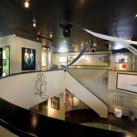 Unique Art Gallery Theater Home