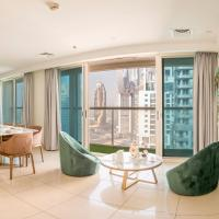 Bravoway Marina View Penthouse with Private Terrace and Pool