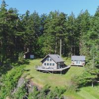 Waterfront Denman Island Cabin