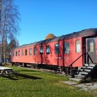 Tågstallarna i Rättvik