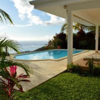 Colonial White House by Tahiti Homes