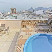 Penthouse duplex with Private Pool and View in Copacabana