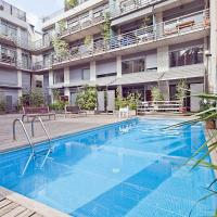 Apartment Barcelona Rentals - Lesseps Pool Apartments