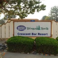 Crescent Bar Camping Resort Studio Cabin 2