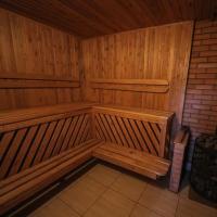 Cottage with Sauna in Ratomka