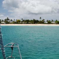 Cozy sail boat in San Blas