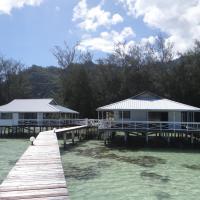 Overwater Fisherman Escape - by Tahiti Villas
