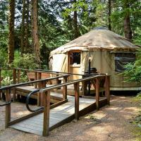 South Jetty Camping Resort Wheelchair Accessible Yurt 3