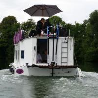 Bateau houseboat camille