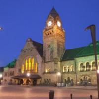 L'Impérial de Metz gare et Pompidou