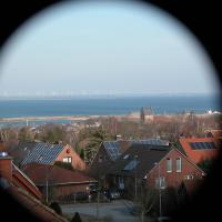 Haus über den Dächern von Heiligenhafen
