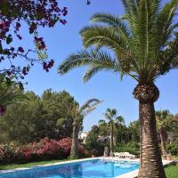 Studio Apartment in grosser Villa mit Pool