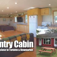 Country Cabin on Farm Near Newmarket Toronto