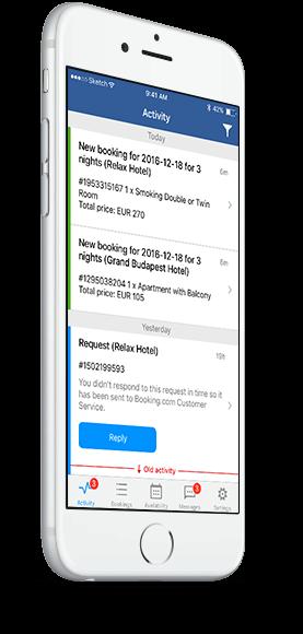 Booking com partner app download