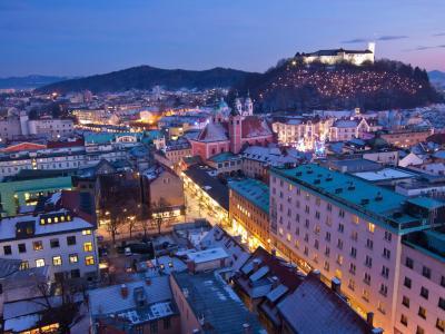 Hoteli v mestu Ljubljana, Slovenija