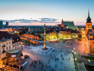 Viešbučiai – Varšuva, Lenkija