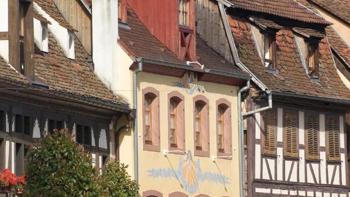 Encuentra el mejor lugar para los viñedos en Obernai