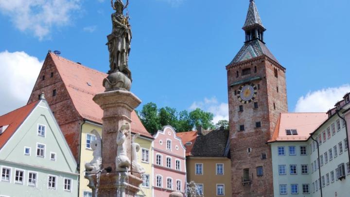 Encuentra el mejor lugar para pasear con niños en Landsberg am Lech