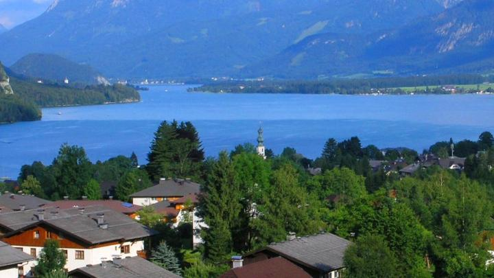 Encuentra el mejor lugar para el ciclismo en Sankt Gilgen