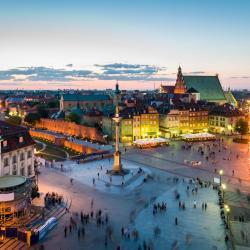 Varšuva 7 kurortiniai viešbučiai