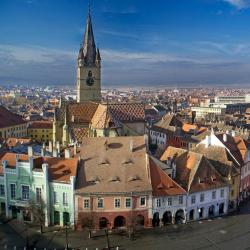 Sibiu 7 nakvynės namai